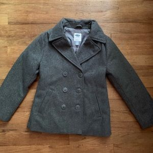 Girls Old Navy Wool Coat. Sz. 8